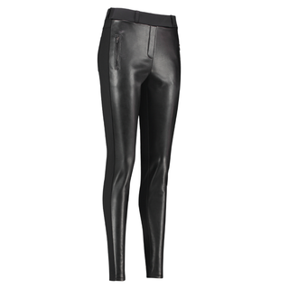 Zwarte broek Margot Leather