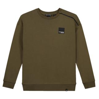 Groene sweater Triangl