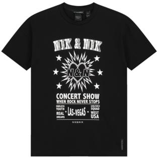 Zwart t-shirt Concert