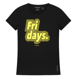 Zwart t-shirt Fridays