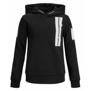 Zwarte hoodie Gurn