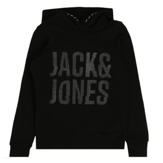 Zwarte hoodie Scotty