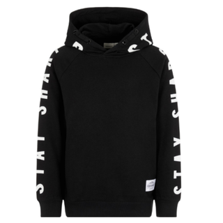 Zwarte hoodie Oleon