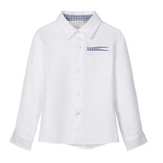 Witte blouse Rapsu