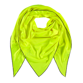 Neon gele sjaal Triangle