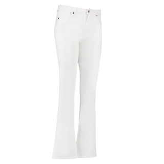 Witte jeans Flair
