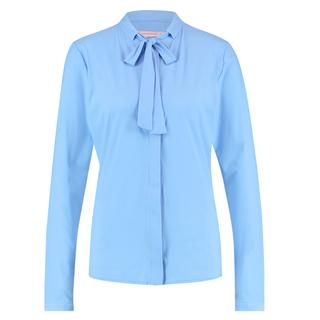 Lichtblauwe blouse Elly