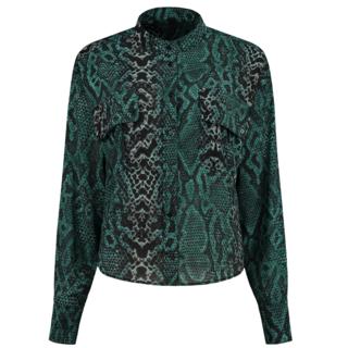 Groene blouse Sara