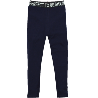 Donkerblauwe legging Lenne