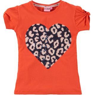 Oranje t-shirt Amber
