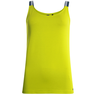 Gele singlet top Plain