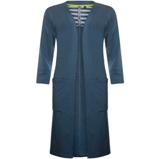 Blauw vest Micromodal
