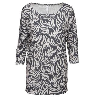 Zwart geprinte blouse Xandra