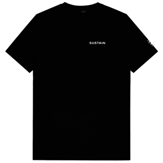 Zwart t-shirt Logo Regular