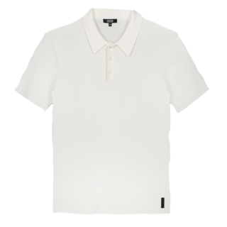 Witte polo Knit