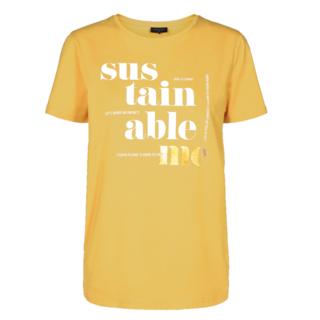 Geel t-shirt Fenja