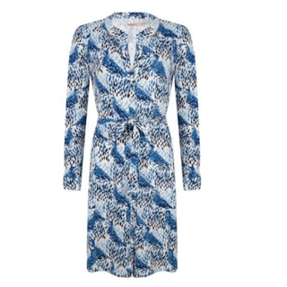 Geprinte jurk 30001
