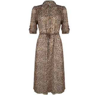Geprinte jurk 15013