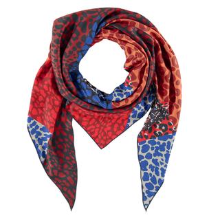 Geprinte sjaal Triangle
