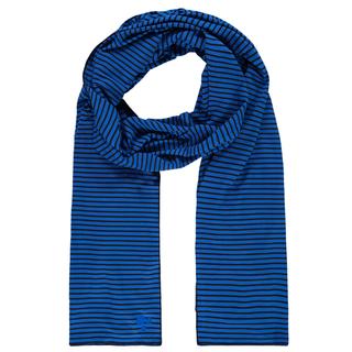 Blauw geprinte sjaal Yara Stripe
