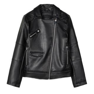 Zwarte jacket Merida