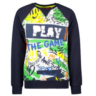 Donkerblauwe sweater Play