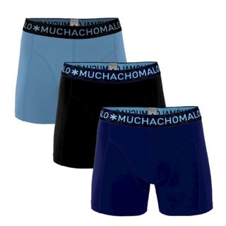 Donkerblauw geprinte 3-pack Solid