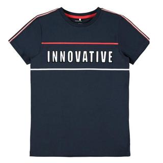 Donkerblauw t-shirt Dax