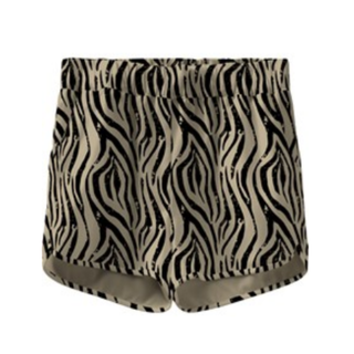 Geprinte short Vinaya Zebra
