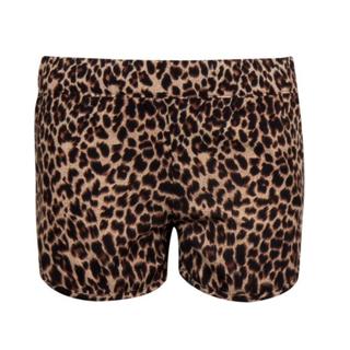 Geprinte short Vinaya Leopard