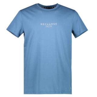 Blauw t-shirt Recharge