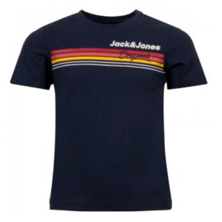 Donkerblauw t-shirt Venture