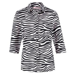 Geprinte blouse Poppy Zebra