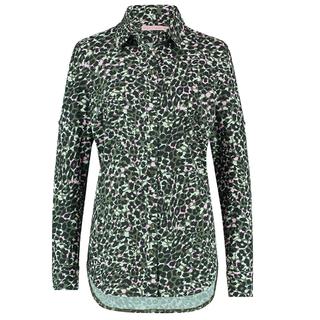 Groene blouse Poppy Camo