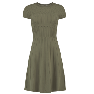 Groene jurk Jessie