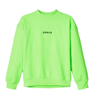 Limegroene sweater Tuba