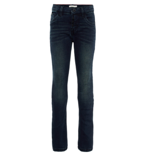 Donkerblauwe jeans Silas Toppe