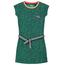 Quapi Groen geprinte jurk Aafje