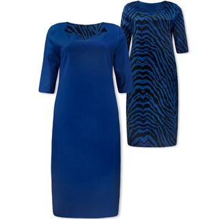 Oceanblue jurk Chaza