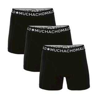 Zwarte 3-pack Solid