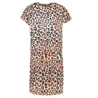 Koraal jurk Coria