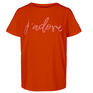 Rood t-shirt Comma
