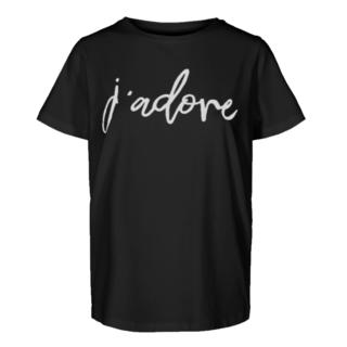 Zwart  t-shirt Comma