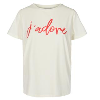 Wit t-shirt Comma