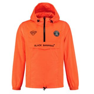 Oranje windbreaker Anorak