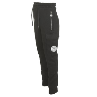 Zwarte sweatpants Anorak