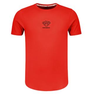 Rood t-shirt Basic Monkey
