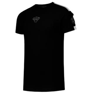 Zwart t-shirt Pocket