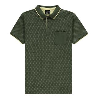 Groene polo Crossing Pocket