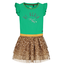 Quapi Groene jurk Abriana